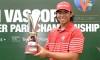 National amateur Gavin Kyle Green with the PGM Vascory Templer Park Championship trophy